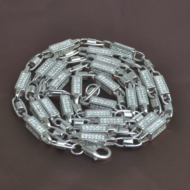 iced out pure silver 925 chain