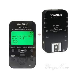Image 3 - YONGNUO Wireless TTL Flash Trigger YN622 YN 622C II C TX KIT with High speed Sync HSS 1/8000s for Canon Camera 500D 60D 7D 5DIII
