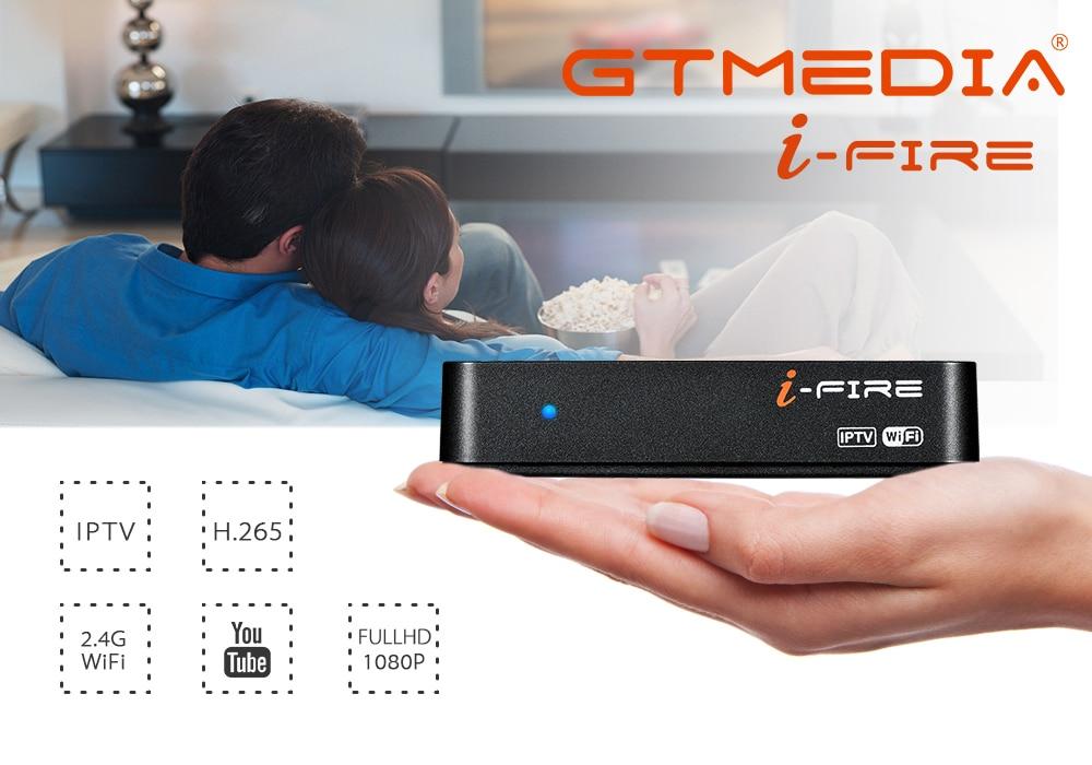 GTmedia IFire IPTV Set Top Box full HD 1080P Built in 2 4G WiFi IPTV