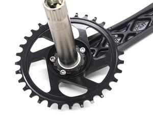 Image 4 - 170/175mm MTB  Crankset crank Chainwheel 30/32/34/36/38T 7075 chainring CNC Alu Narrow Wide For GXP XX1 X9 XO X01