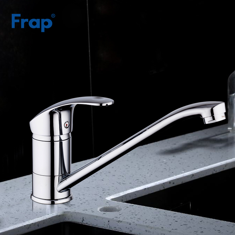 Frap New Arrival Deck Mounted Single Handle Brass Kitchen Sink Faucet Cold And Hot Mixer Tap F4921