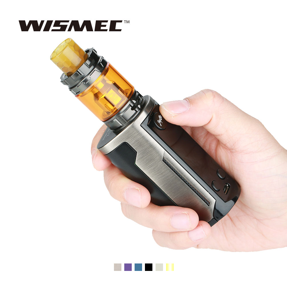 2018 New WISMEC Reuleaux RX GEN3 Dual Kit 230W RX GEN3 Dual Mod W/ 2/5.8ml Gnome King Atomizer Tank Original Kit Vs GEN3 KIT original wismec reuleaux rx2 21700 230w tc kit with 2ml 4ml gnome tank atomizer max 230w output no 18650 battery box mod vs gen3