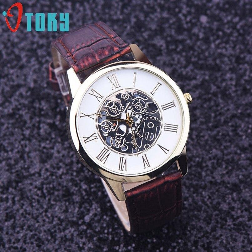 Excellent Quality New Leather Watch Men Luxury Brand Quartz Watch Analog Display Date Casual Watch Men Watches relogio feminino