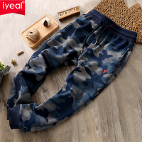 IYEAL Camouflage Pants Kids Boys Pants Cotton Long Teenage Boys Clothing Camo Pants Kids Trousers Big Size 4 6 8 10 12 Years