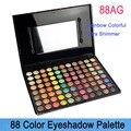 Envío gratis! caliente venta! nuevo 88 de Color conjunto de maquillaje Rainbow sombra de ojos sombra de ojos cosméticos conjunto con espejo y cepillo