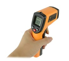 Best Buy New GM320 Laser LCD Digital IR Infrared Thermometer Temperature Meter Gun Point -50~380 Degree Non-Contact Thermometer T20
