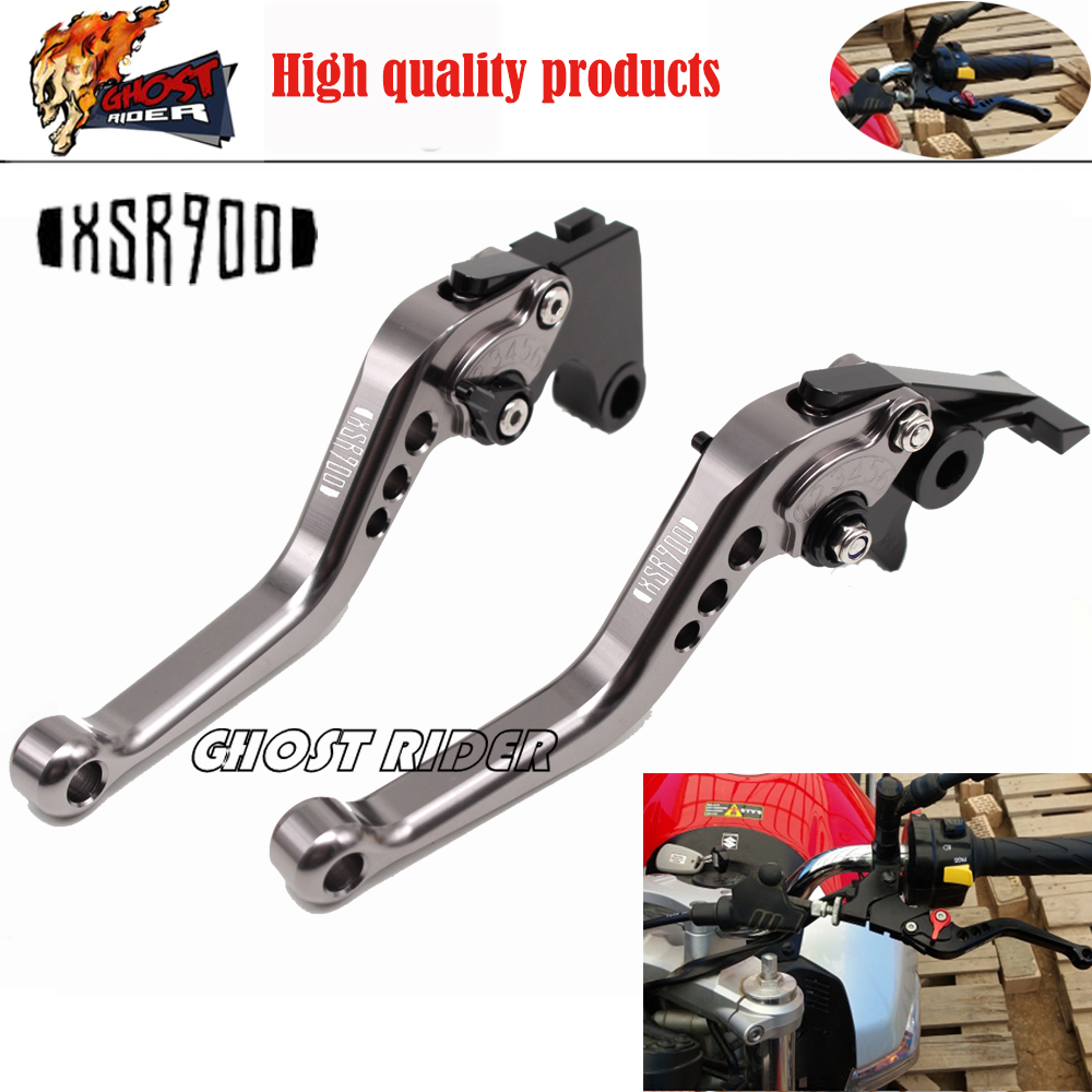 For YAMAHA XSR 900 XSR900 2016 2017 Motorcycle Accessories Short Brake Clutch Levers