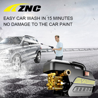 2017 ZNC New Induction Pure Copper Motor Car Washer Cleaning Equipment Portable And Automate Cleaning Car