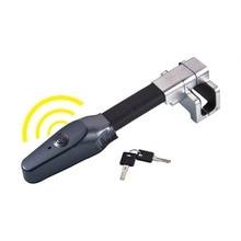 Universal Steering Wheel Lock Universal Security Car Anti Theft Safety Alarm Lock Retractable Anti Theft Protection T-lock