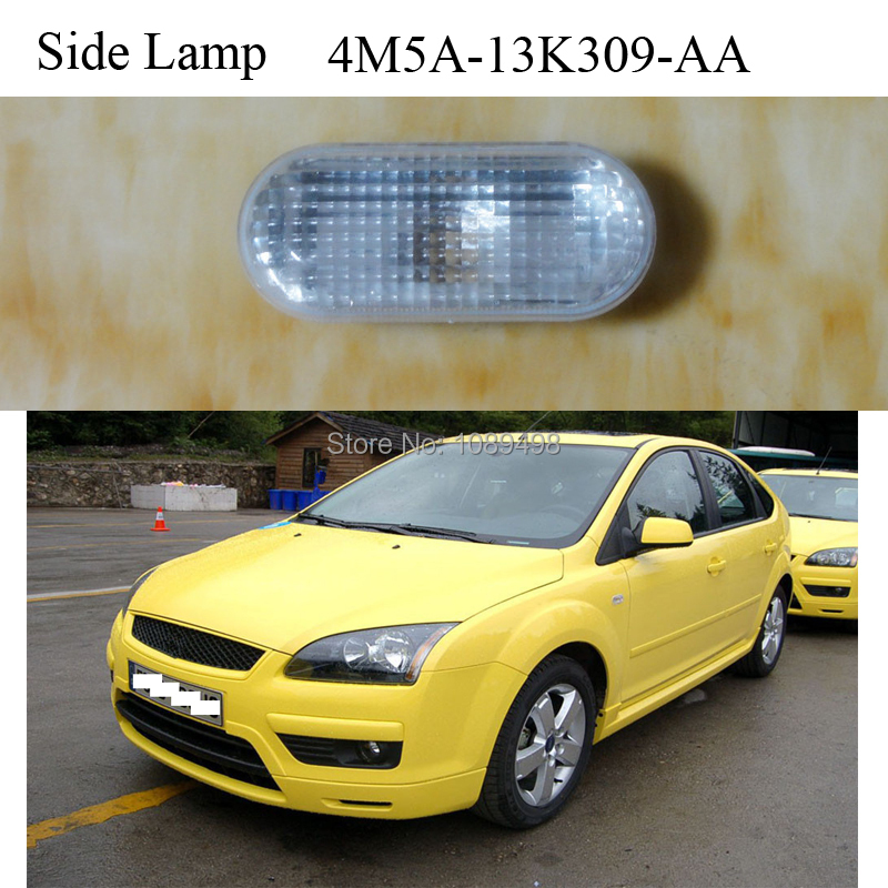 1шт крыло боковой габаритный фонарь поворота света без лампы накала для Форд Фокус 2 II с 2005-2008