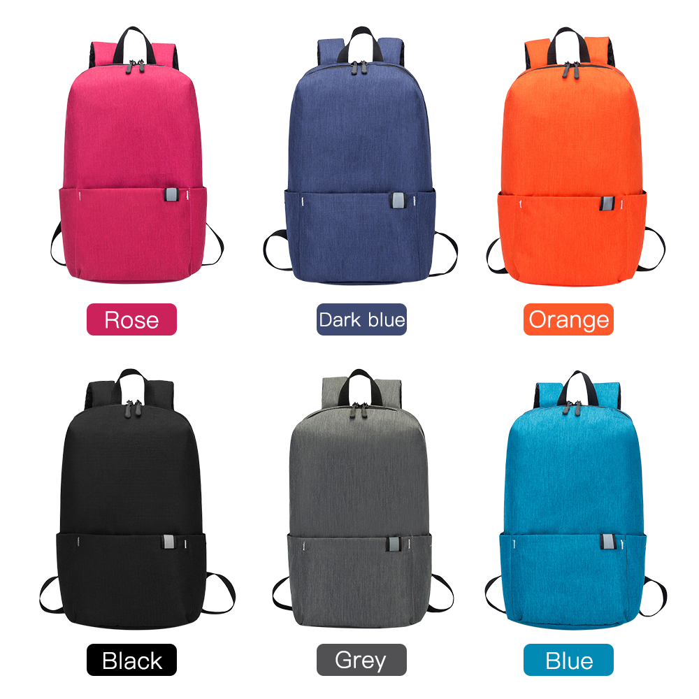 10L Backpack Waterproof Fitness Bag Sports Bag Women's Spacious Backpack Travel Camping Bag red one size 13