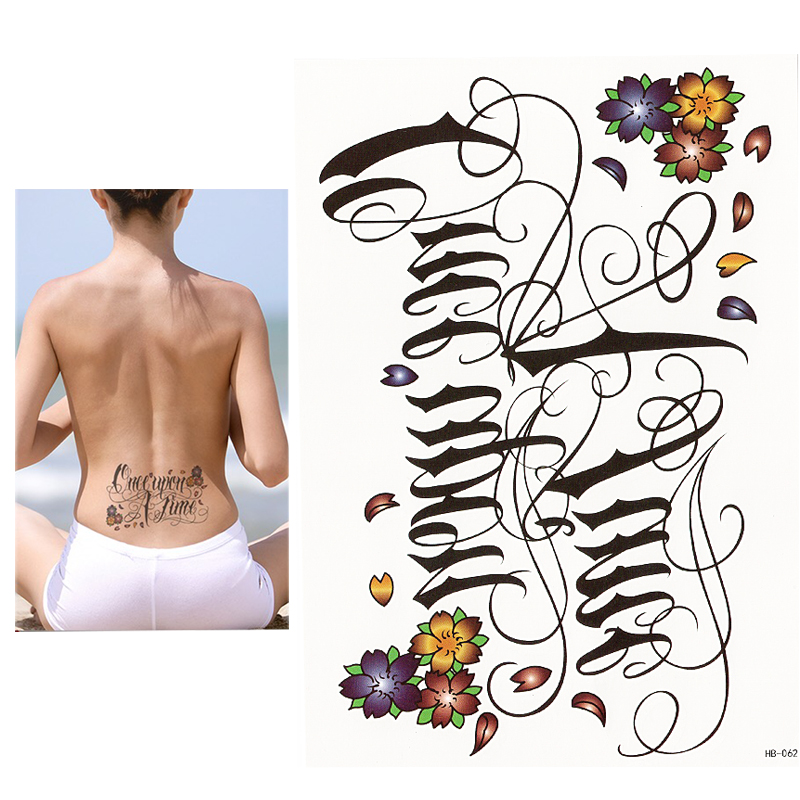 Top 10 Largest Temporary Word Body Tatoos Near Me And Get Free Shipping A659