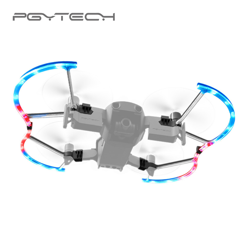 PGYTECH for Mavic Air LED Propeller Guard with Colorful Lighting Mode Protective Propeller Parts DJI Mavic Air Accessory цены