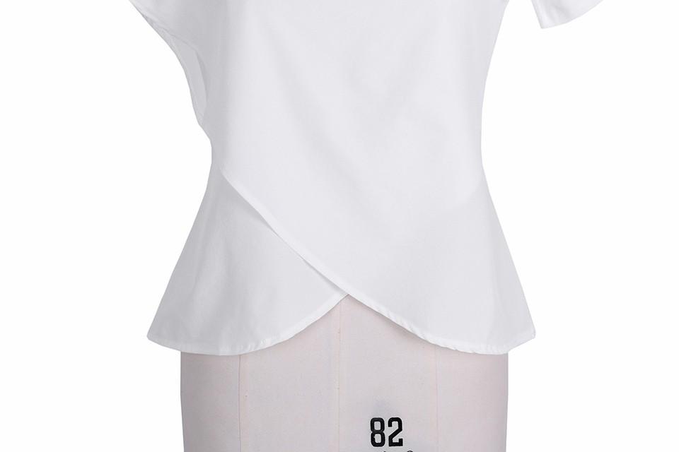 HTB1igSiNpXXXXXeXFXXq6xXFXXXk - Short Sleeve White Chiffon Blouses Womens Clothing Summer