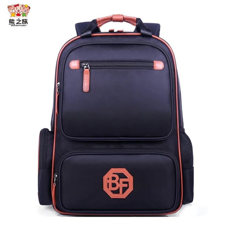 BEAR DEPT FAMILY Hot School Bags font b Kids b font School font b Backpack b