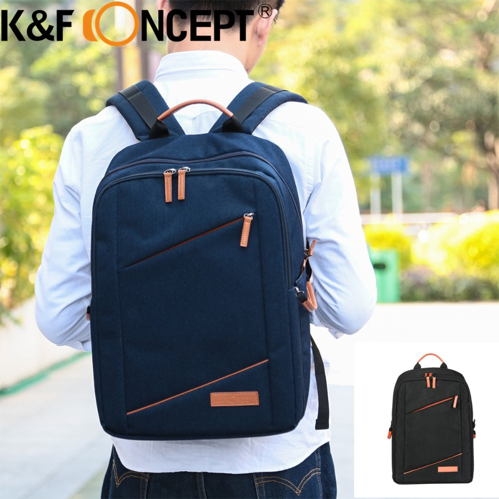 K&F CONCEPT Multi-functional Modern Camera Backpack Hold 1 Camera+Multiple Lenses+Flashlight+Items for Camera литой диск replica legeartis concept ns512 6 5x16 5x114 3 et40 d66 1 bkf