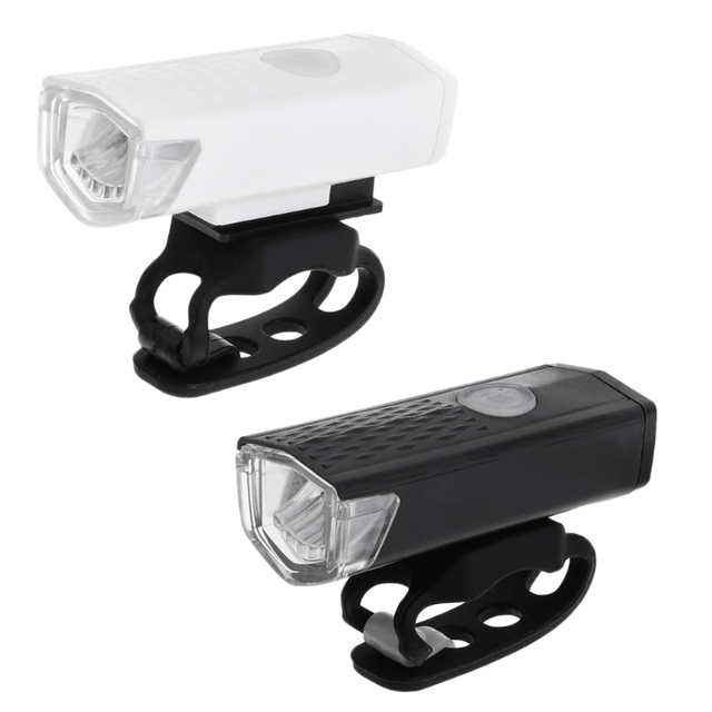 300LM Cycling Bicycle CREE LED Lamp USB Rechargeable Bike Front Light