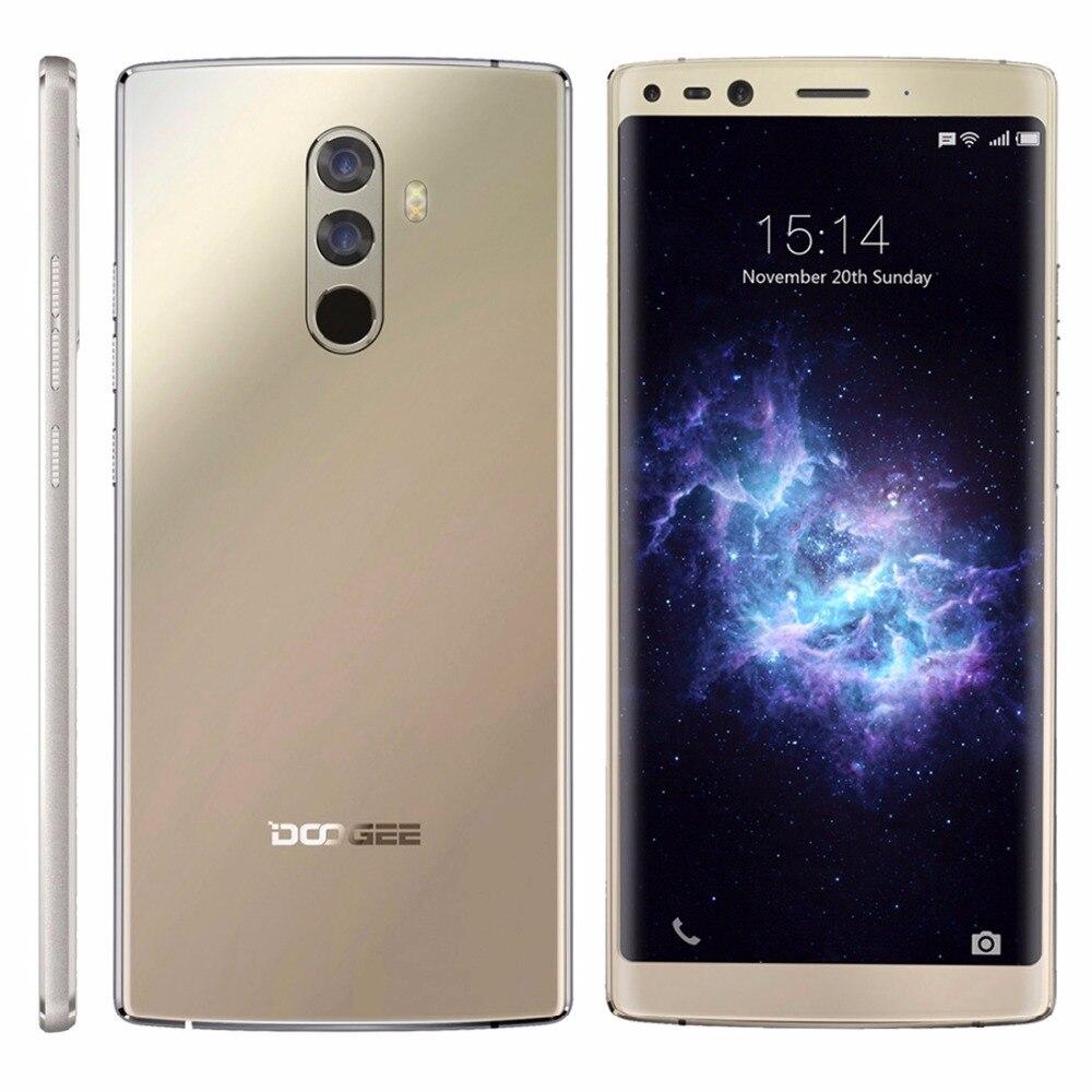 DOOGEE Mix 2 Android 7.1 Smartphone 128GB ROM 6GB RAM 4060mAh 5.99 FHD Helio P25 Octa Core 4G Cellphone 4 Cameras 2160x1080px