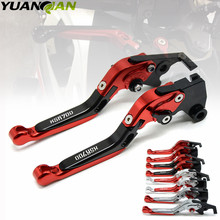 With XSR900 Logo For Yamaha XSR 900 ABS 2016 Red&black Adjustable Folding Extending CNC Motorcycle Brake Clutch Lever