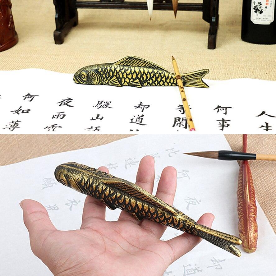 Pintura do Artista Paperweight do Artista Chinês Caligrafia
