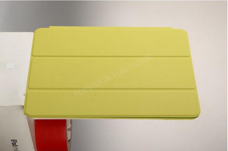 גוף מלא להגן מיוחד עיצוב לוגו דק הפוך סלים מגנטי נרתיק עור כיסוי חכם עבור אפל ipad מיני 1 2 3 case כיסוי