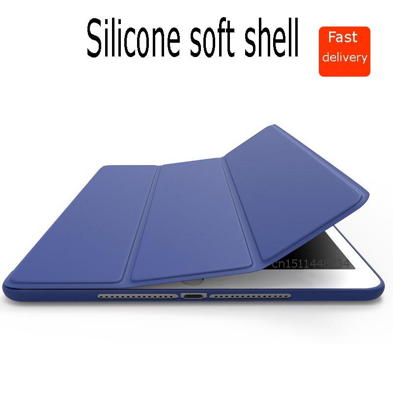 Ultra thin Smart Case for iPad mini 2 3 4 ipad 2 3 4 5 6 Air AIR 2 original design PU Leather/Soft silicone Back shell