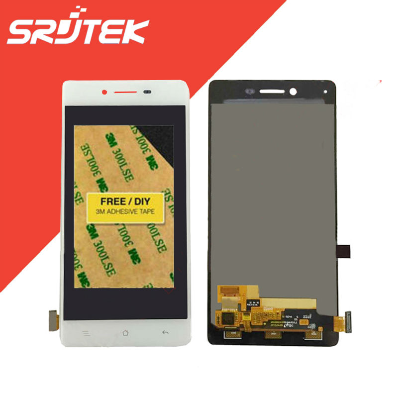 5.0 For OPPO R7 R7t LCD Display + Touch Screen Digitizer Sensor Full Assembly Replacement Parts