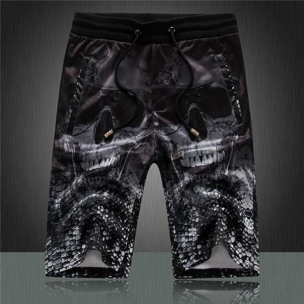 97b1820525 2015 summer fashion High quality Men's Surf Board Shorts Print skull Swim  shorts swimming shorts trunks bermuda crop top
