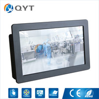 11 6 Inch 1366x768 Embedded All In One Computer IndustrialTouch Screen Tablet PC Dual RJ 45
