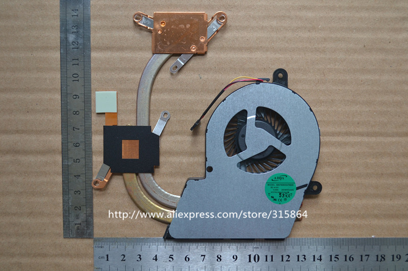 New laptop cpu cooling fan for Toshiba Satellite U900 U945 U940 with heatsink