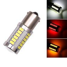 2 шт. высокое качество 1156 BA15S P21W 33 SMD 5630 5730 Светодиодные Автомобильные тормозные огни задние лампы поворотные 33SMD Авто Задние задние лампы