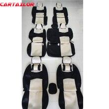 Cartailor Чехлы для Mitsubishi Pajero Sport 2011 2013 Автокресло Обложка Аксессуары вентилируемые сетки крышка места протектор