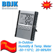 Discount! Desttop Indoor Digital Hygrometer and Thermometer C/F Switch Free Shipping
