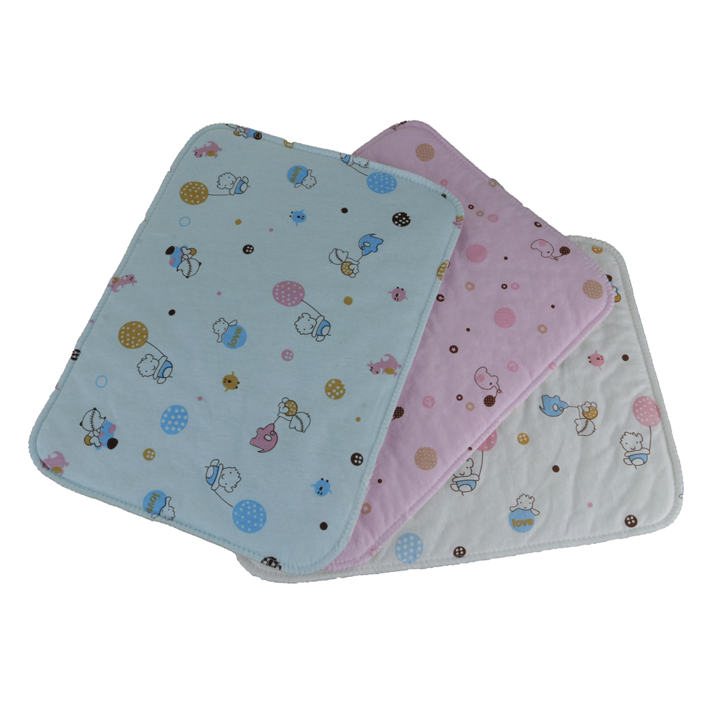 Breathable Waterproof Baby Urine Mat Soft Diaper Nappy Changing Pad Cover Mat Q