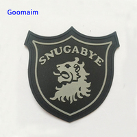 custom 3D PVC patch in garment Patches private name label tag handmade bags rubber label in garment labels sowing on clothes
