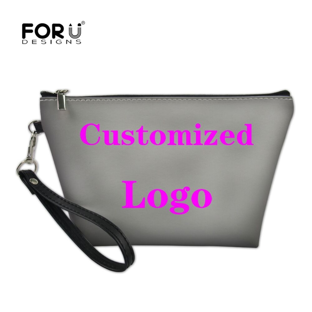 FORUDESIGNS 2018 Customize Image Style Women Make Up Bag Necessarie Travel  Organizer for Cosmetics Bag Mini f1b8b2647e1b6