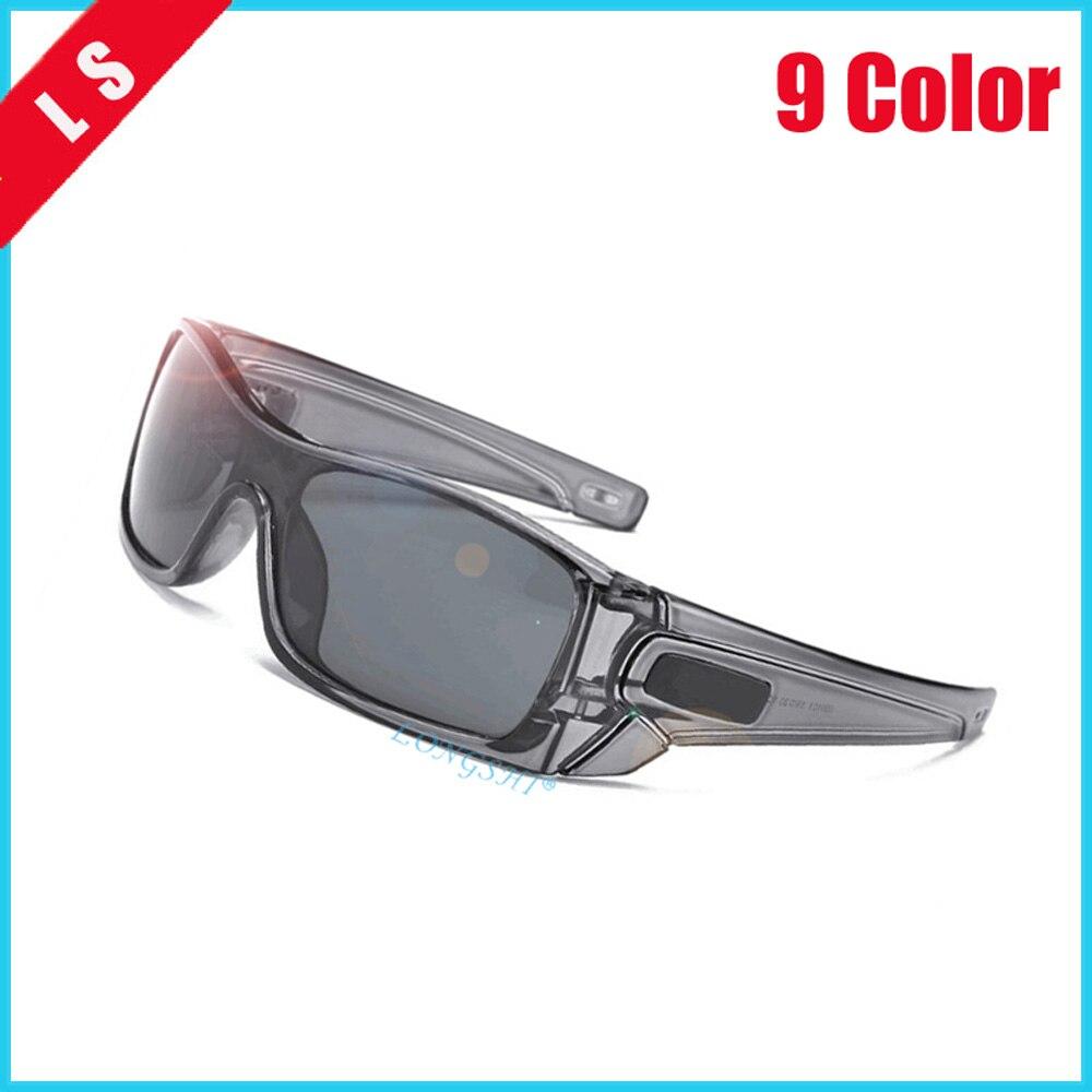 LONGSHI Men Polarized Sunglasses Aluminum Magnesium Sun Glasses Driving Glasses Rectangle Shades For Men Oculos Masculino Male