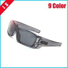 LONGSHI Men Polarized Sunglasses Aluminum Magnesium Sun Glasses Driving Glasses