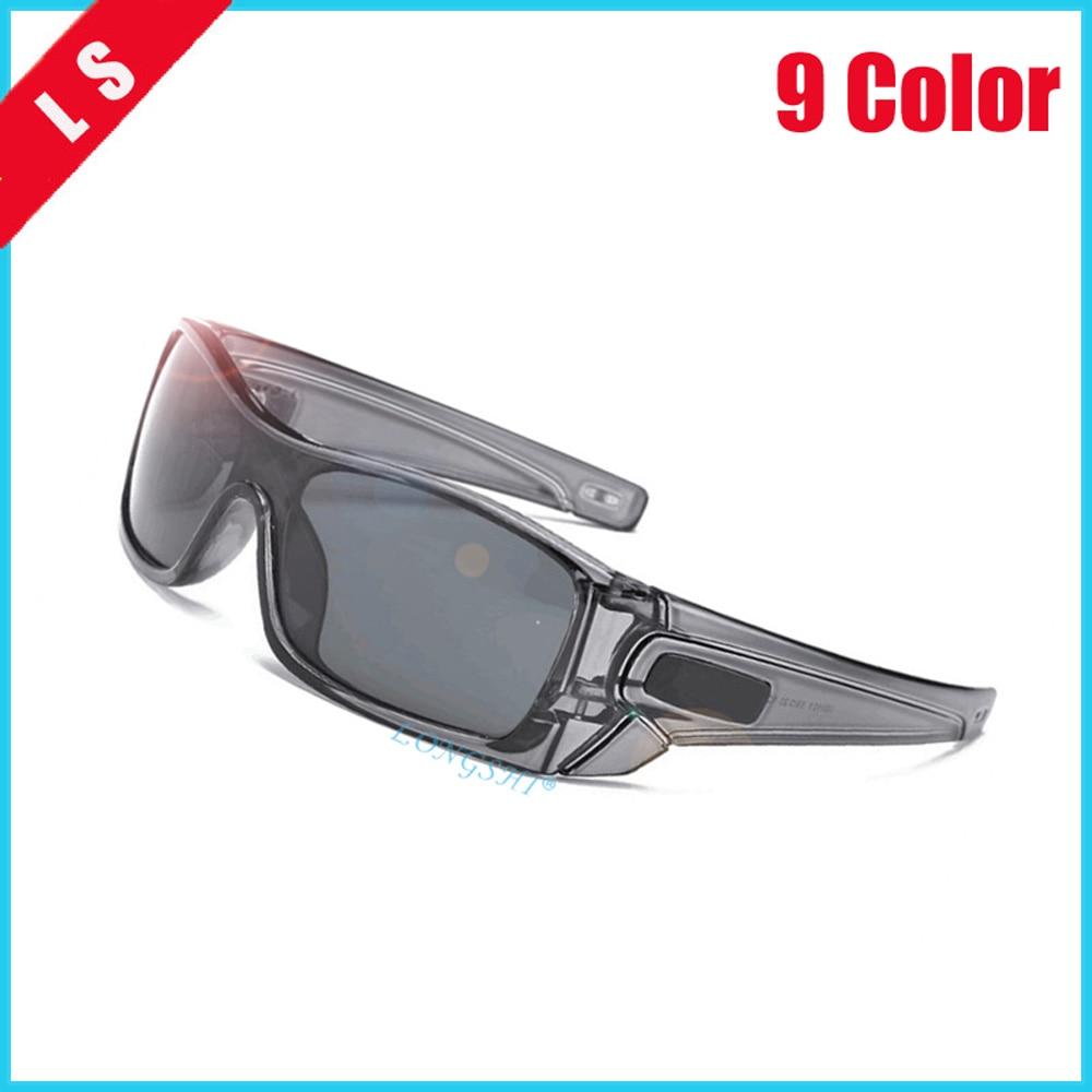Longshi óculos de sol polarizados óculos de sol de magnésio de alumínio óculos de condução retângulo tons para masculino oculos masculino