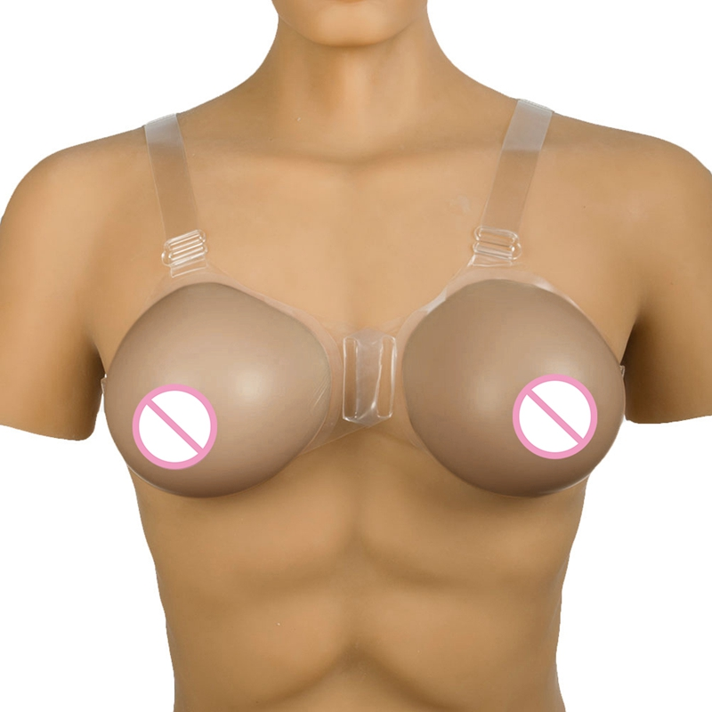 1400g/piece Shemale Fake Boobs for Crossdresser Drag Queen Silicone Breast Form Fake Breast Bra Transgender Silicone Breast