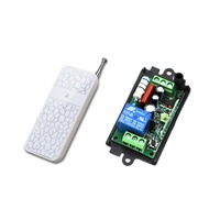 Best Price White AC220V 110V 1CH Wireless Remote Control Switch System Receiver Remote 315mhz 433mhz New