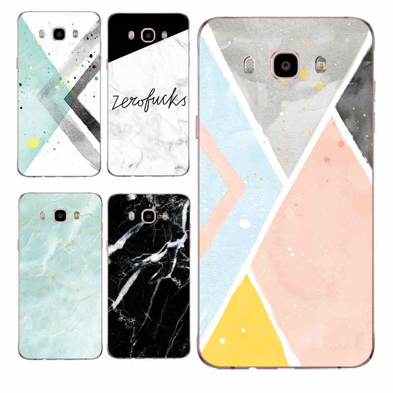 Mármore macio claro tpu caso de telefone para samsung j3 j5 j7 s6 s7 s8 note8 a3 a5 c7 j2prime pintura protetor capa frete grátis