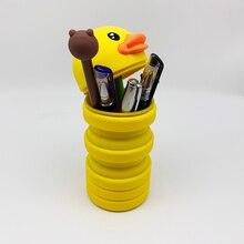 Waterproof Pencil Case Kawaii Large Capacity Multifunction Student Pencil Box School Office Stationery Supplies