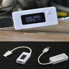 C18 Newest LCD USB Voltage Current LED Charger Tester Capacity Detector Power Supply Bank