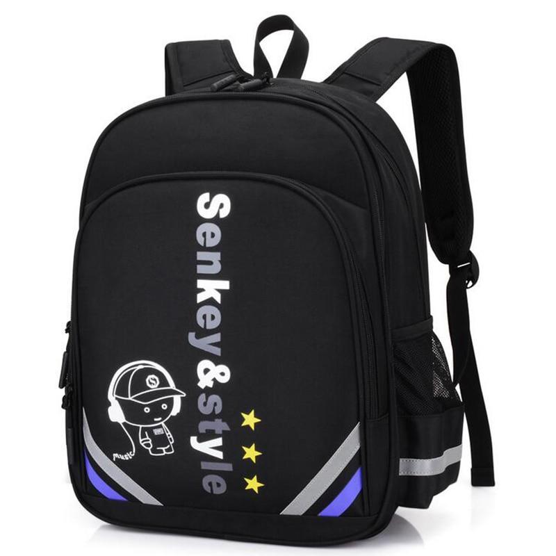 New 2018 Anime Luminous Cute Cartoon Print School Backpacks For Girls Kids Elementary Shoulder School Bags Boys Bookbag Student new style school bags for boys