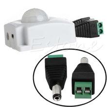 Automatic DC 12V 24V 10A Infrared PIR Motion Sensor Switch For LED light Strip