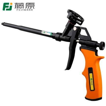 FUJIWARA Fluorocarbon Metal Foam Gun Spray Foaming Gun Special Foam gun Polyurethane Foam Sealant