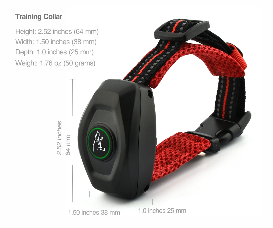 400M Rechargeable and 2 in 1 Dog Training Collar and Anti Bark Collar with Remote Control 18