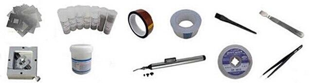 bag reballing kit combination,  bga reballing accessoris pack for bga rework station bga reballing machine кофта billionaire