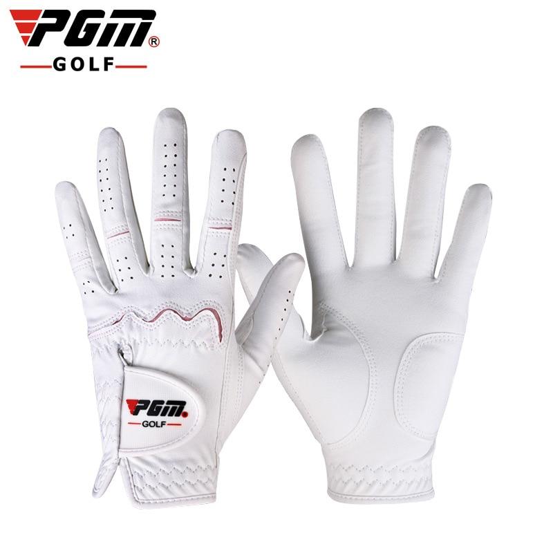Prix pour PGM véritable! Gants De Golf dames nano tissu gants caddy spécial anti-dérapage respirant mains